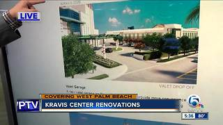 Kravis Center breaks ground on $50 million renovation and expansion - Video