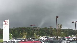 Possible Funnel Cloud Spotted in Tupelo Amid Tornado Warnings - Video