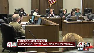 City Council votes down Edgemoor KCI agreement - Video