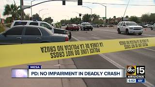 Deadly crash leaves one dead in Mesa - Video