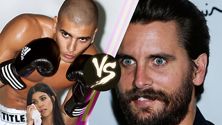 Younes Bendjima Sends Scott Disick Cryptic Message Is He Ready To FIGHT Scott? - Video