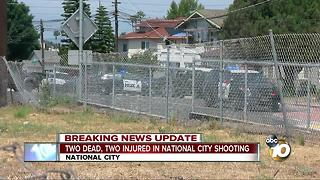 Two dead, two injured in National City shooting - Video