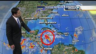 Tropical Storm Franklin Monday morning update
