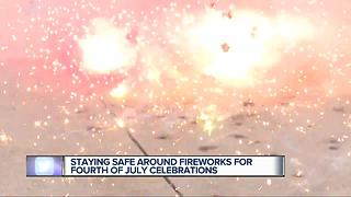 Staying safe around fireworks for Fourth of July celebrations - Video