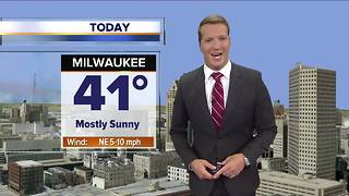 Sunny but cool Friday - Video