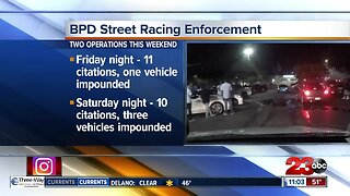Bakersfield police seize three vehicles in street racing operation