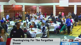 Thanksgiving for the Forgotten serves 350 - Video