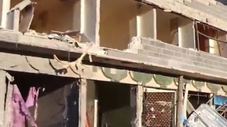 Syrian Government Offensive Reduces Town in Daraa Province to Rubble - Video