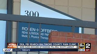 Federal agents search Baltimore County pain clinic