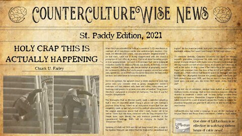 Holy Crap, This is Actually Happening St. Patrick's Edition — CCW News 03-21-2021