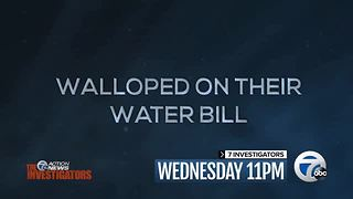 Wednesday at 11: Detroit water bills - Video