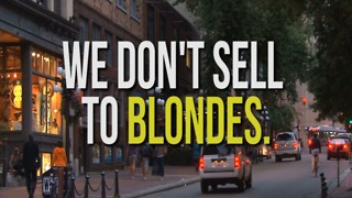 Joke: We Don't Sell to Blondes - Video