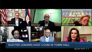 Elected leaders host COVID-19 town hall