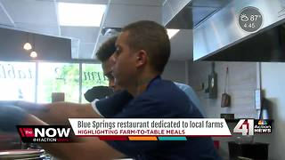 Blue Springs eatery focuses on organic cooking - Video