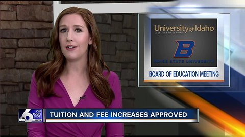 Tuition and fee increases approved by Idaho State Board of Education