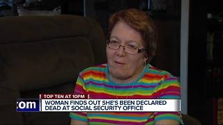 Social Security Administration declares metro Detroit woman 'dead' - Video