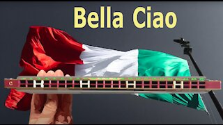 How to Play Bella Ciao on a Tremolo Harmonica with 24 Holes Part 2