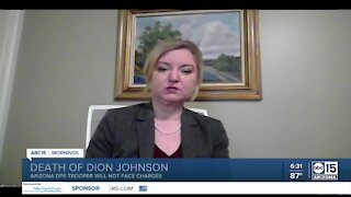 Maricopa County Attorney discusses decision in Dion Johnson case