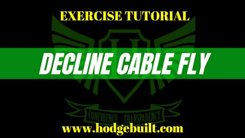 Decline Cable Fly