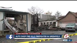 Business owners assess damage after Greenfield fire - Video