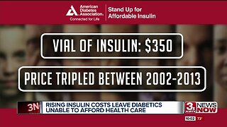 Rising insulin costs leave diabetics unable to afford health care