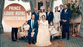 Intimate royal photos show Kate laughing with Prince Louis