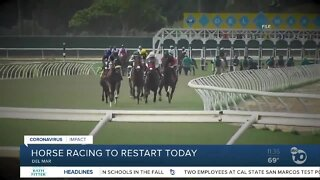 Horse racing to restart today
