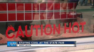 Preparing for hot weekend at the State Fair - Video