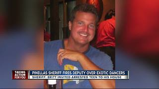 Pinellas deputy fired after investigation reveals he pursued woman he recently arrested - Video
