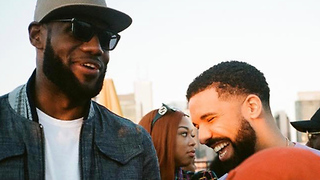 Did LeBron Tell DRAKE Where He's Playing Next Year!?! - Video