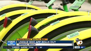 Unique bike app rolls out in Imperial Beach - Video