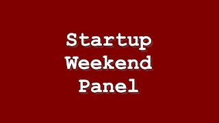 Fairfield Startup Weekend Interviews: Are you still working on your project?