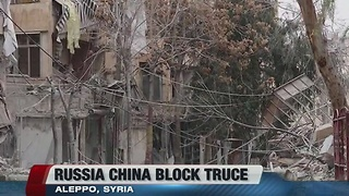China blocks Aleppo's Truce - Video