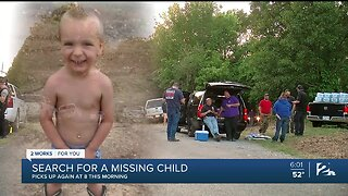 Search continues for missing child in Mayes County