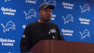 Jim Caldwell Discusses His Future With The Lions - Video
