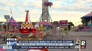 Sneak peak of safety at the Maryland State Fair - Video