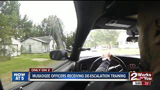 Muskogee Officers reciving training - Video
