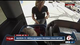 Madison County needle exchange program could return