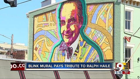 Covington BLINK mural pays tribute to Ralph Haile