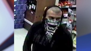 Police search for bandana bandit - Video