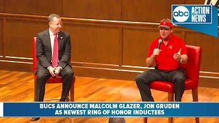 Buccaneers announce Malcolm Glazer, Jon Gruden as this year's Ring of Honor inductees - Video