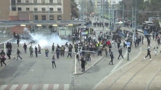 Police Fire Tear Gas to Disperse Crowds in Paris Suburb - Video