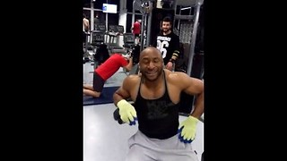 Extreme gym workout - Video