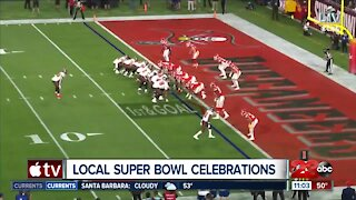 Bakersfield residents celebrate the Super Bowl differently due to covid