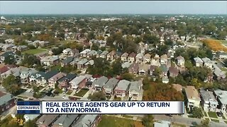 Real estate agents gear up to return to a new normal
