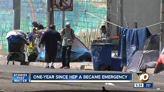 One year since hepatitis A emergency - Video