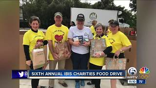 6th annual Ibis Charities Food Drive held Sunday
