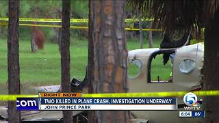 Two killed in Lake Worth plane crash that originated from Key West