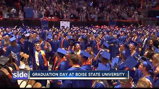 BSU Spring 2018 graduation ceremonies - Video
