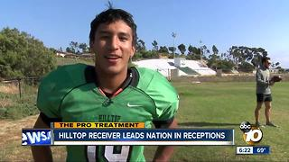 Pro Treatment: Hilltop High senior WR looks to continue dominant play - Video